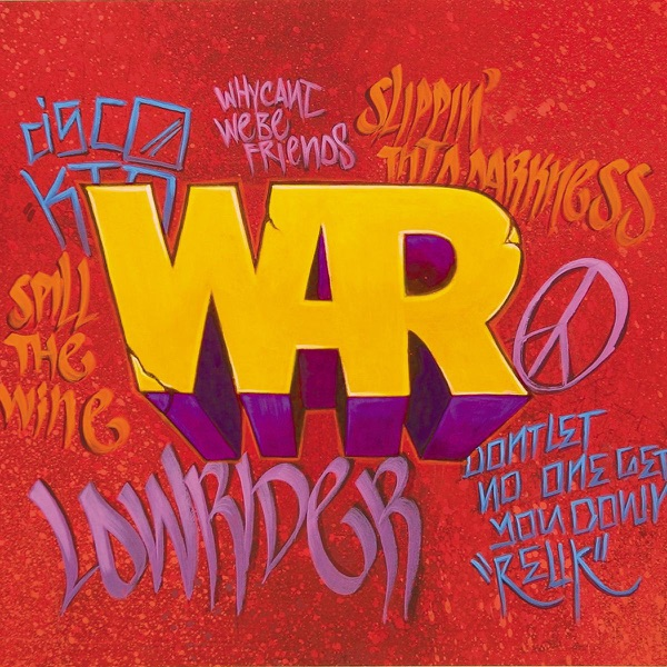 The Very Best of War War CD cover