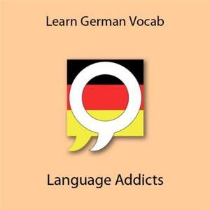 Learn German Vocabulary