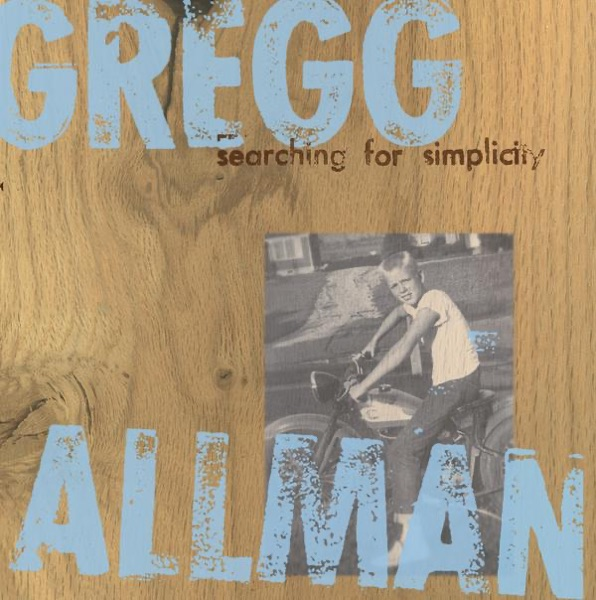 Searching for Simplicity Gregg Allman CD cover