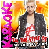 Get Back (ASAP) [In the Style of Alexandra Stan] [Karaoke Version]