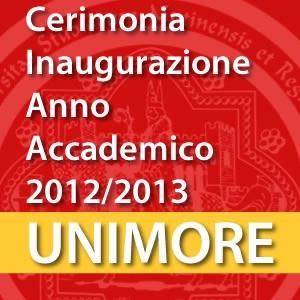 Cerimonia di Inaugurazione Anno Accademico 2012-2013 [Video]
