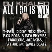 All I Do Is Win (Remix) [feat. T-Pain, Diddy, Nicki Minaj, Rick Ross, Busta Rhymes, Fabolous, Jadakiss, Fat Joe, Swizz Beatz] - Single
