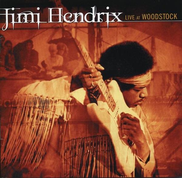 Live At Woodstock Jimi Hendrix CD cover