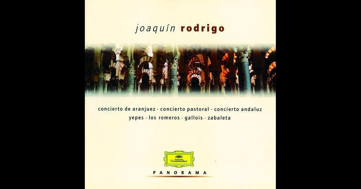 Joaquín Rodrigo - Garcia Navarro García Navarro Concerto D'Aranjuez · Concerto Madrigal