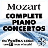 Mozart: Complete Piano Concertos (The VoxBox Edition) - Alfred Brendel, Walter Klien, Peter Frankl, Ingrid Haebler & Martin Galling Cover Art