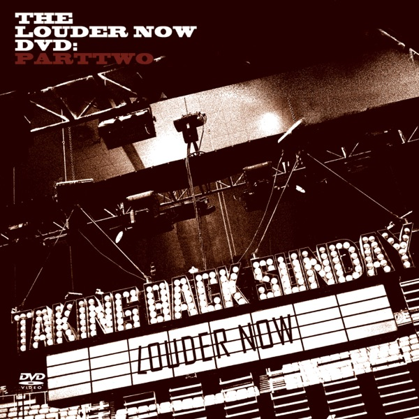 louder now part 2 album cover by taking back sunday