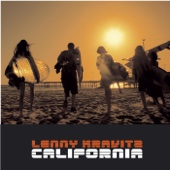 Lenny Kravitz - California artwork