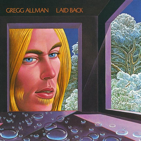 Laid Back Gregg Allman CD cover