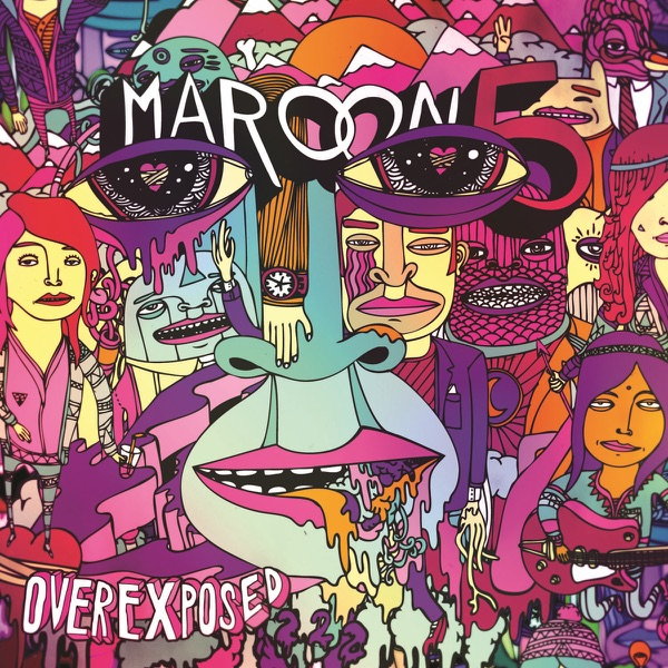 Overexposed Deluxe Version Maroon 5 CD cover