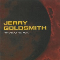 Picture of Jerry Goldsmith - 40 Years of Film Music by The Philharmonia