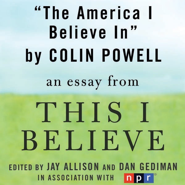 an essay on the beliefs of an american