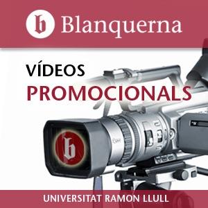 Vídeos promocionals de les Facultats Blanquerna - HD