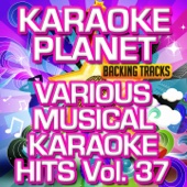 Various Musical Karaoke Hits, Vol. 37 (Karaoke Planet)