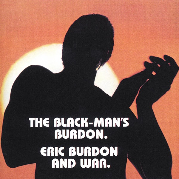 The Black-Mans Burdon Eric Burdon  War CD cover