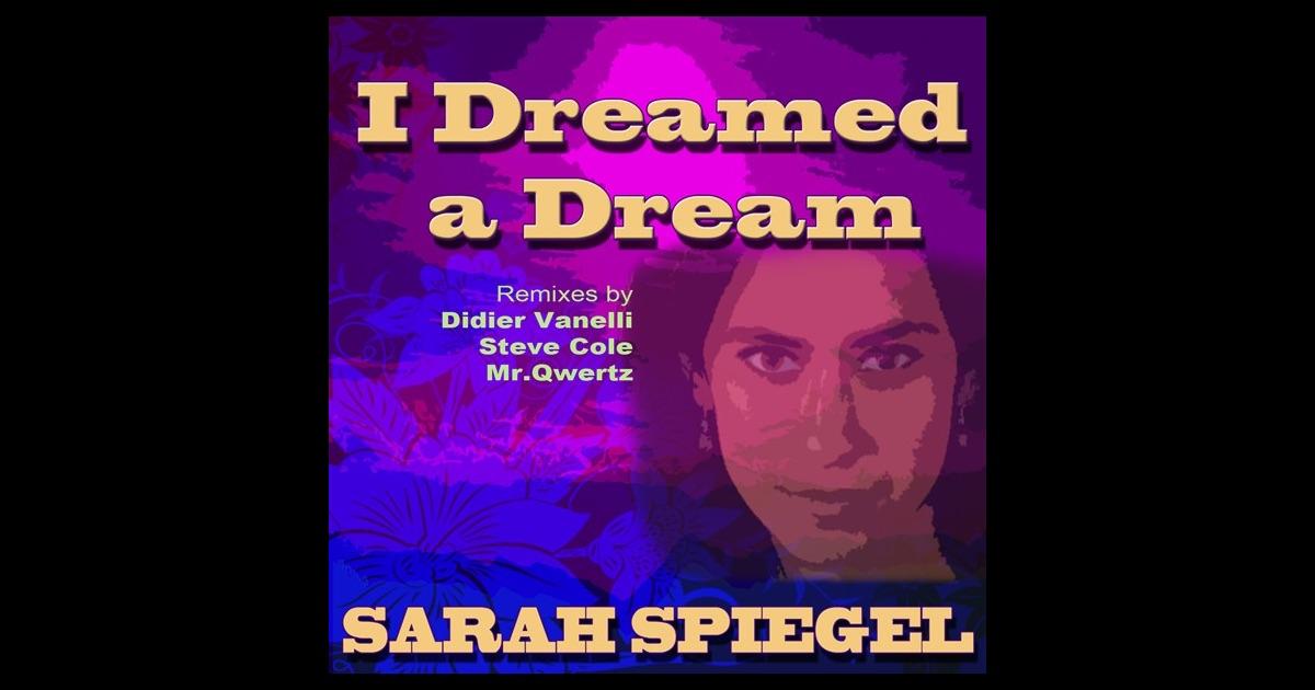 I dreamed a dream by sarah spiegel on apple music for Spiegel digital download