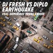 Earthquake (feat. Dominique Young Unique) - Single cover art