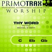 Thy Word - Worship Primotrax - Performance Tracks - EP