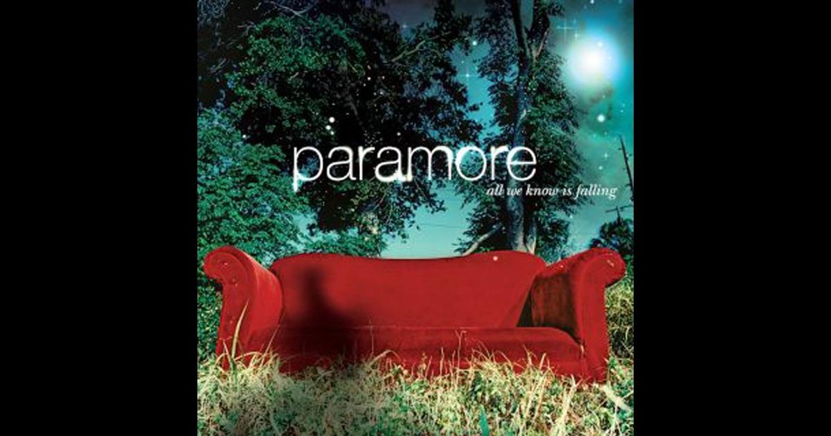 Paramore viajó de regreso a Orlando, Florida, pero poco después de llegar, Jeremy Davis dejó la banda; citó razones personales para hacerlo. [38] [39] [40] Los restantes tres miembros de Paramore continuaron con la composición de su álbum debut, nombre en cuestión, All We Know Is Falling (traducido: «Todo lo que conocemos se está cayendo»), fue inspirado por Jeremy. [38].