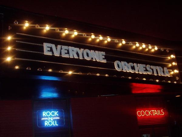 Everyone Orchestra: Live in Athens