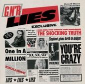 Guns N' Roses - G N' R Lies artwork
