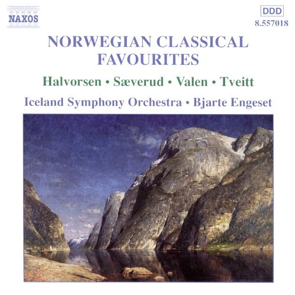 Norwegian Classical Favourites - 2 Johan Halvorsen CD cover