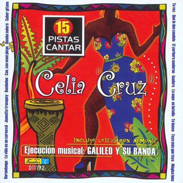 Cantar Como - Sing Along Celia Cruz Various Artists CD cover