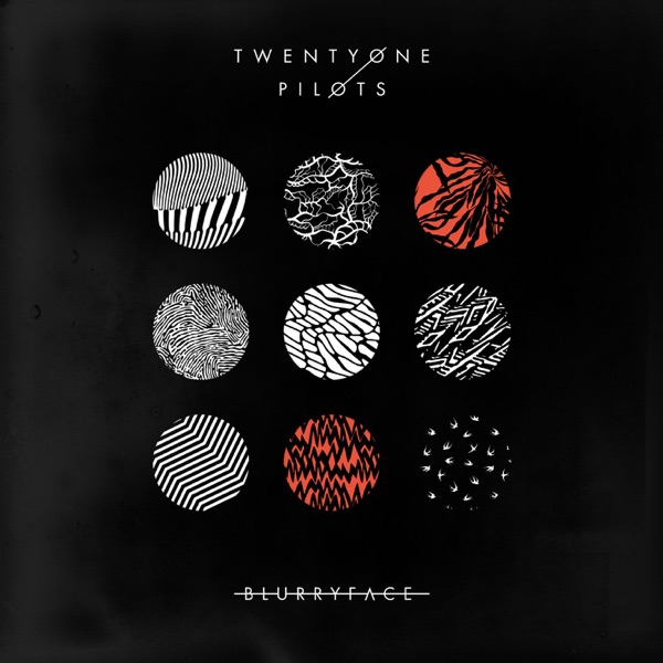 Blurryface twenty one pilots CD cover