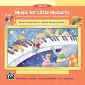 Music for Little Mozarts: Music Lesson & Music Discovery, Book 1