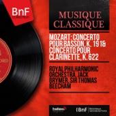 Mozart: Concerto pour basson, K. 191 & Concerto pour clarinette, K. 622 (Mono Version)