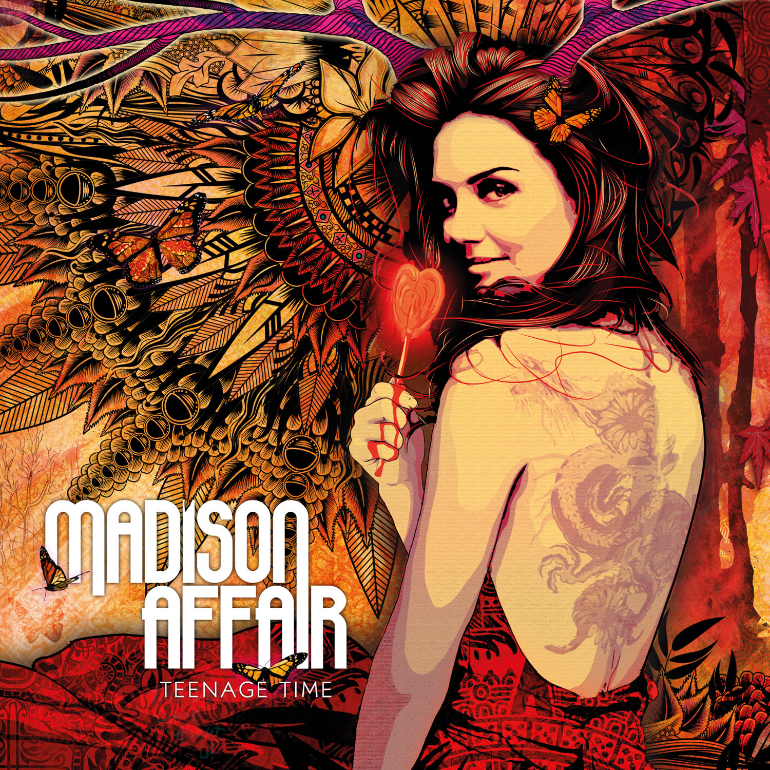 Madison Affair - Teenage Time (2011)