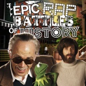 Jim Henson vs Stan Lee - Single cover art