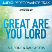 Great Are You Lord (Live) [Audio Performance Trax] - EP cover art