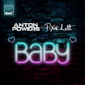 Anton Powers & Pixie Lott - Baby artwork
