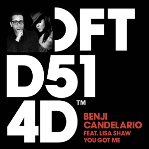 3. Benji Candelario - You Got Me (feat. Lisa Shaw) [Benji Candelario Groove Rendition]