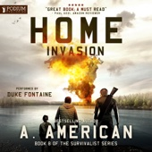 A. American - Home Invasion: The Survivalist Series, Book 8 (Unabridged)  artwork
