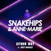 Snakehips & Anne-Marie - Either Way (feat. Joey Bada$$) artwork