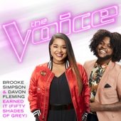 Earned It (Fifty Shades of Grey) [The Voice Performance] - Brooke Simpson & Davon Fleming