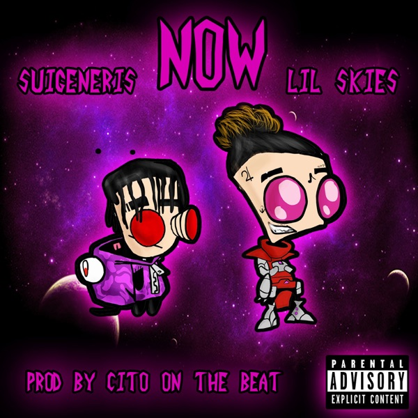 Now feat Lil Skies - Single Suigeneris CD cover