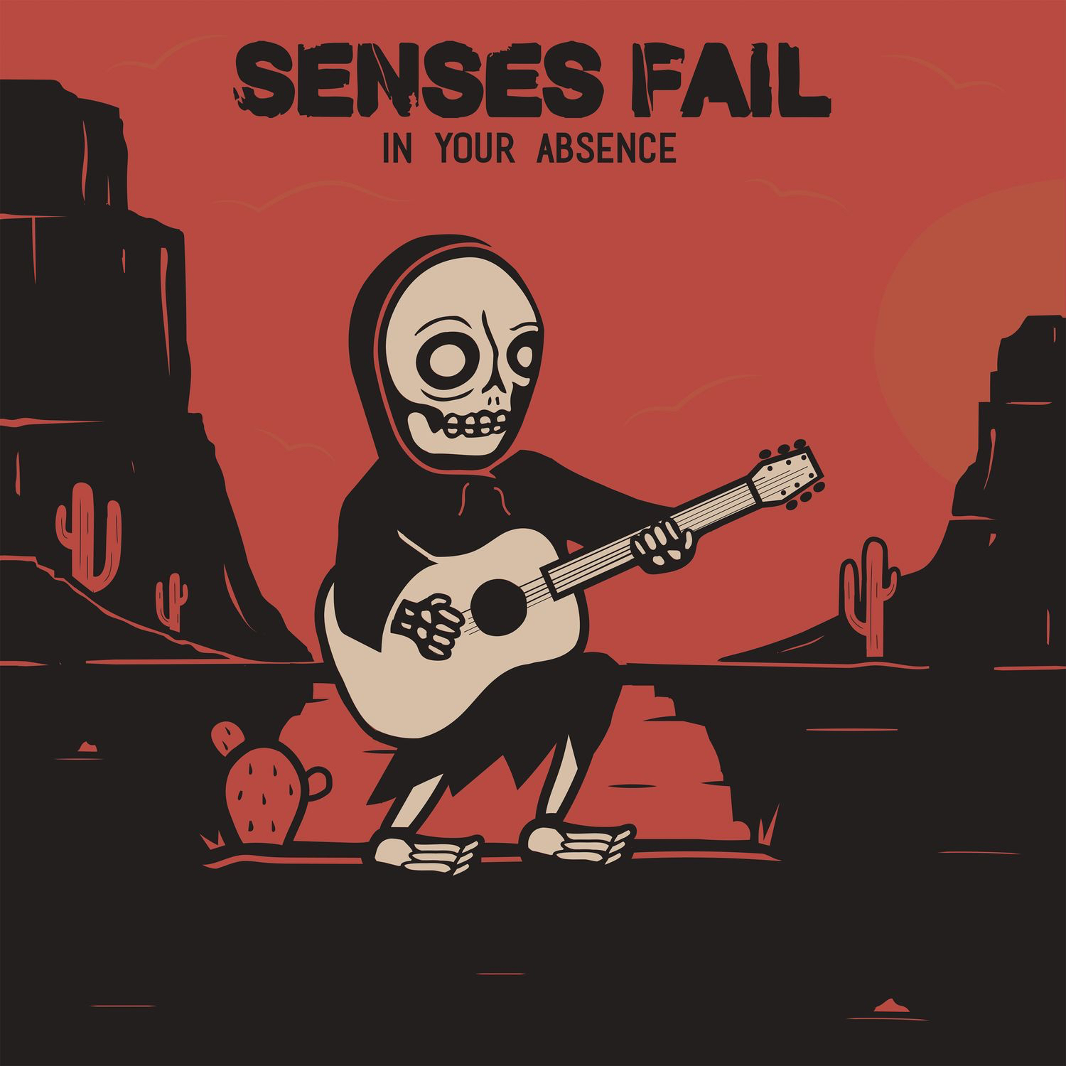 Senses Fail - In Your Absence [EP] (2017)