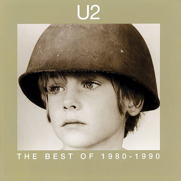 The Best of 1980-1990 U2 CD cover