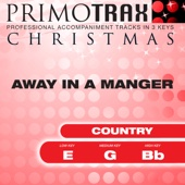 Away In a Manger (Country Christmas Primotrax) [Performance Tracks] - EP