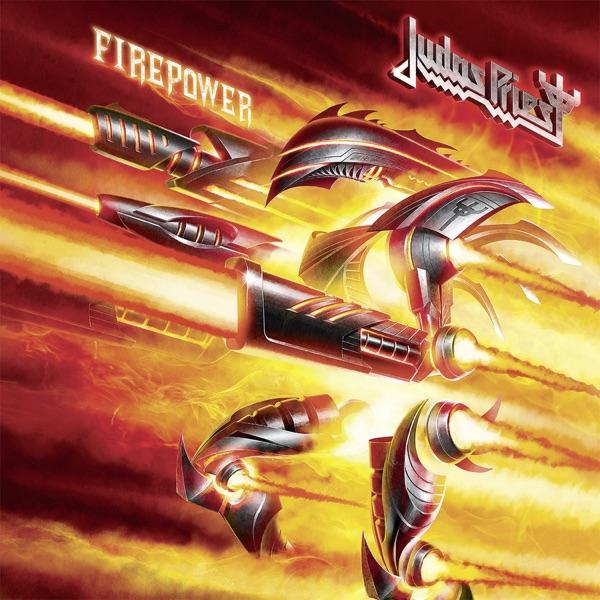 FIREPOWER Judas Priest CD cover