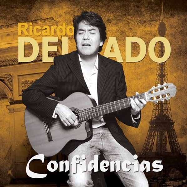Confidencias Ricardo Delgado CD cover