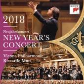 Riccardo Muti & Vienna Philharmonic Orchestra - New Year's Concert 2018 (Neujahrskonzert 2018 / Concert du Nouvel An 2018) [Live]  artwork