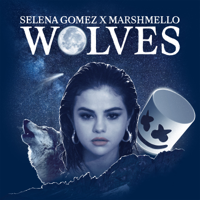 Selena Gomez & Marshmello - Wolves artwork