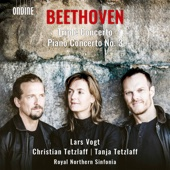 Christian Tetzlaff, Tanja Tetzlaff, Lars Vogt & Royal Northern Sinfonia - Beethoven: Triple Concerto & Piano Concerto No. 3  artwork