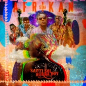 Sauti Sol - Afrikan Star (feat. Burna Boy) artwork