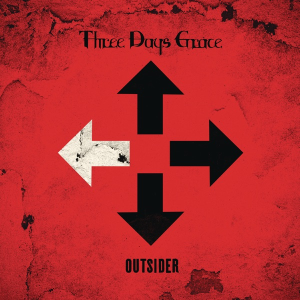 Outsider Three Days Grace CD cover