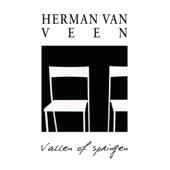 Herman van Veen - Vallen of Springen kunstwerk