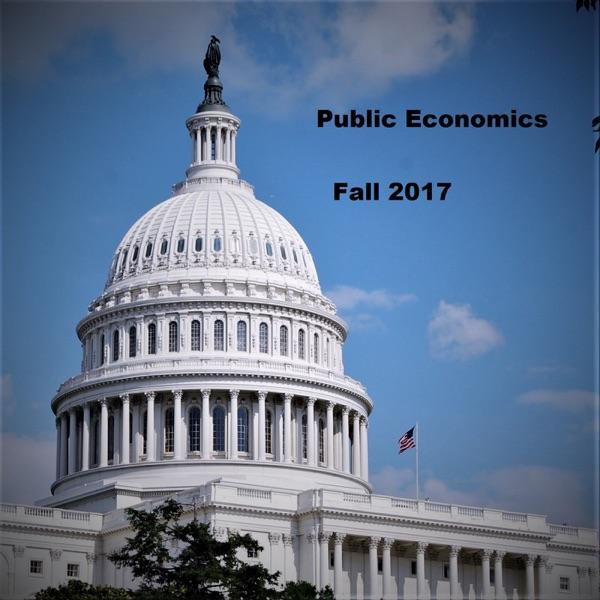 Colgate University Public Economics class podcasts